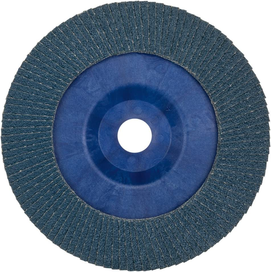 Blue//Brown Bosch 2608607343 Straight K60 Flap Disc for Metal 0 V 180 mm