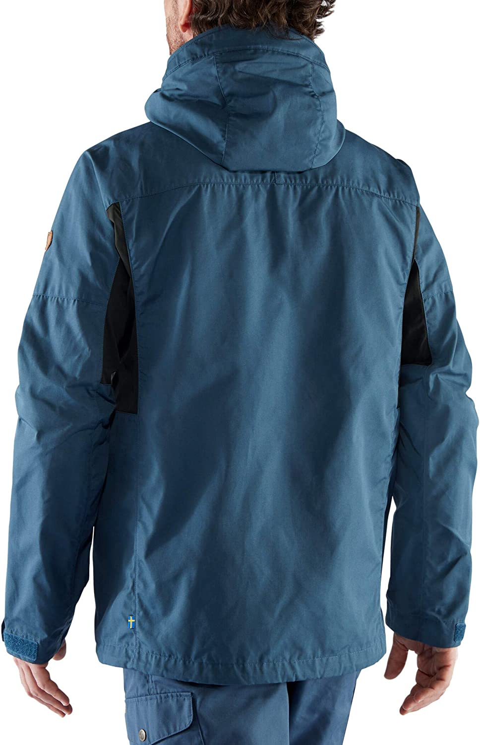 FJALLRAVEN Kaipak Jacket M Jacket, Men Uncle Blue - Dark Grey