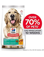 Hill's Science Diet Adult Perfect Weight Chicken Recipe Dry Dog Food for Healthy Weight Management, 28.5 lb Bag
