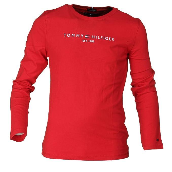 Tommy Hilfiger - Camiseta Essential Hilfiger tee L/S - Camiseta ...