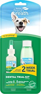 product image for Fresh Breath by TropiClean Dental Trial Kit for Pets - Made in USA