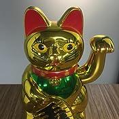 Amazon.com: Gato de la suerte Maneki Neko, gato de la suerte ...