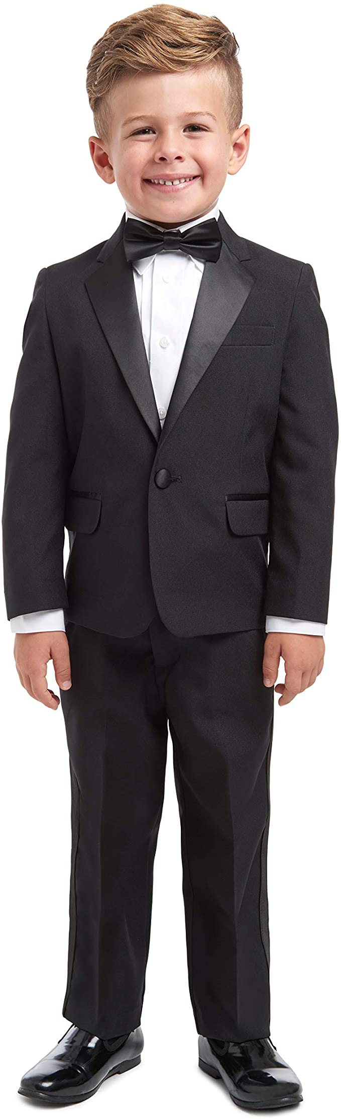 Jacket Pants and Bow Tie Suit Nautica Baby-Boys 4-Piece Suit Set with Dress Shirt