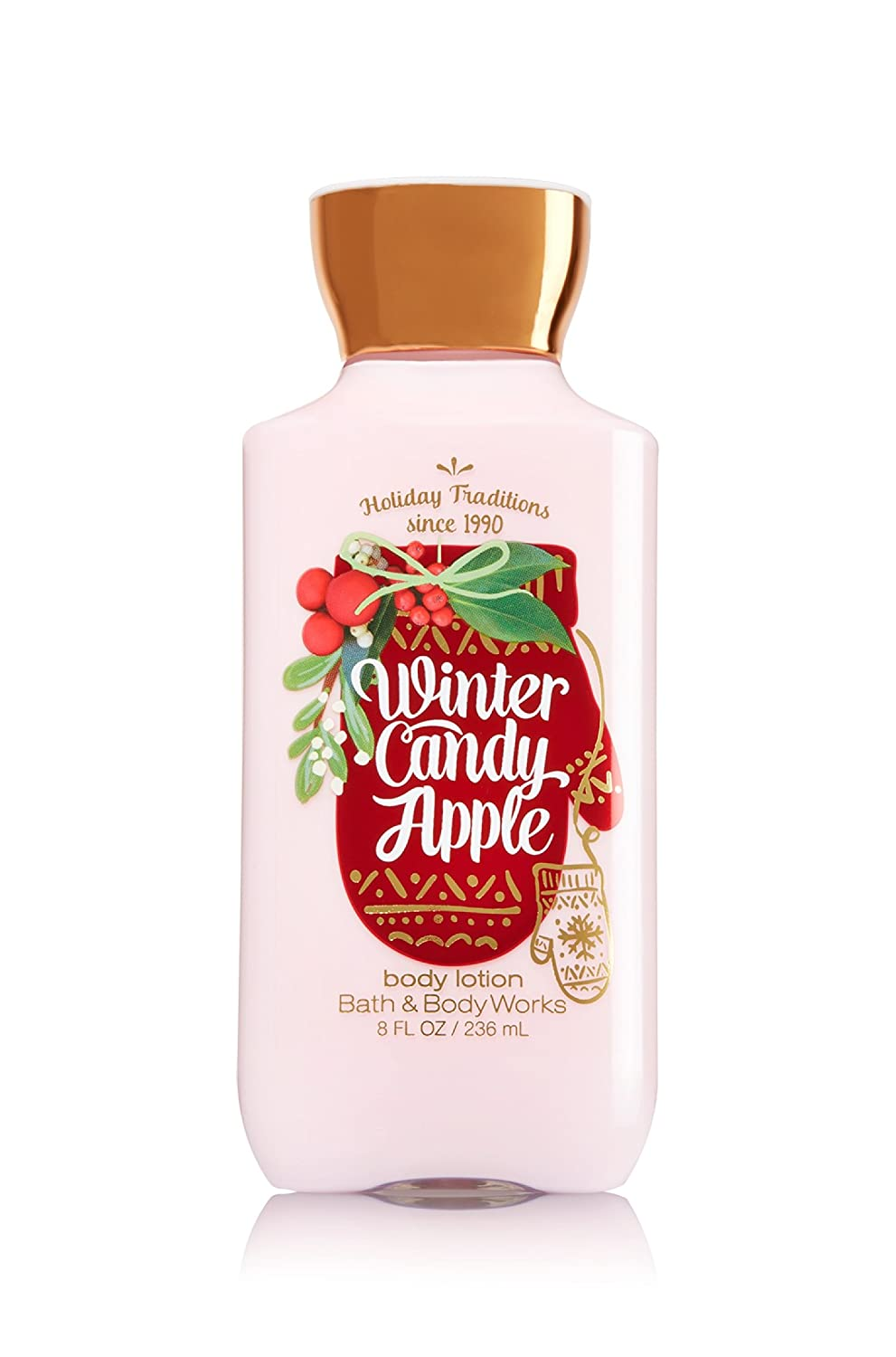 Bath & Body Works Body Lotion Winter Candy Apple 8 fl