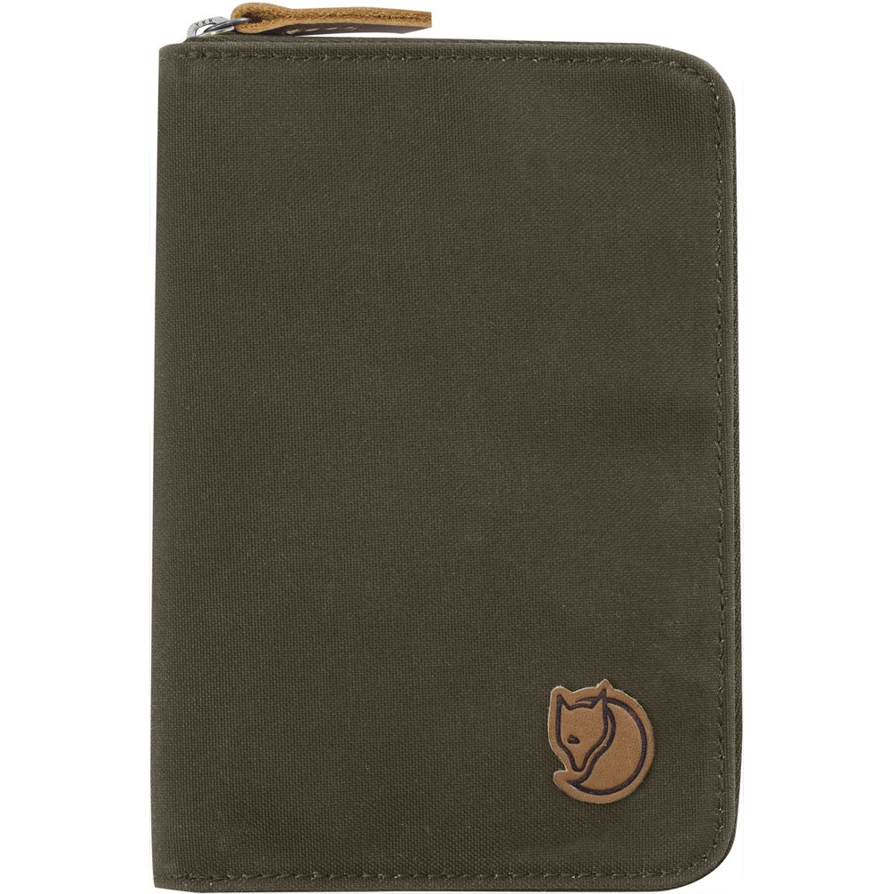 Fjällräven 2018 Passport Wallet, 25 cm, Green (Dark Olive)