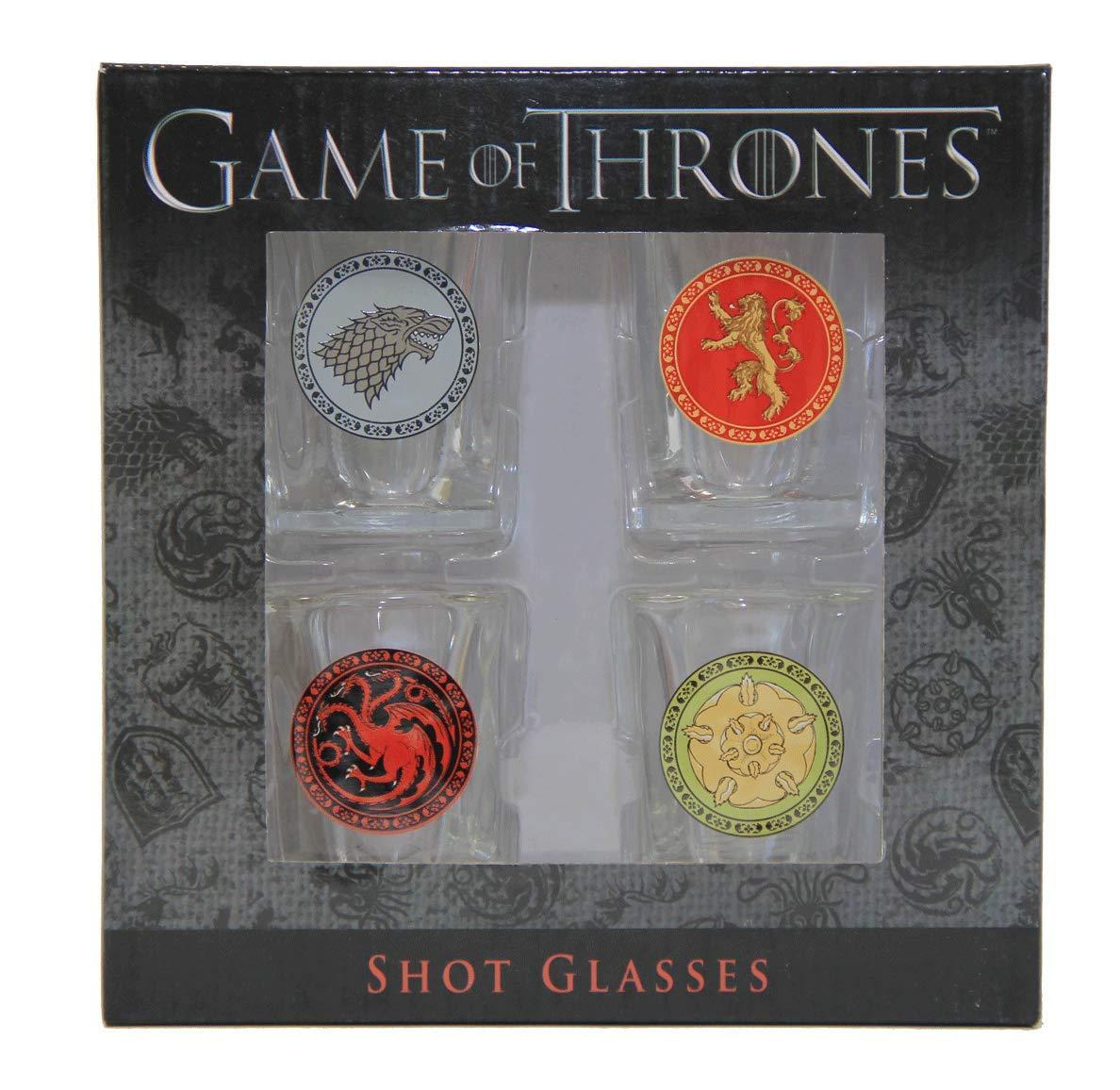 Game of Thrones House Sigil Shot Glass Set (Set of 4) by Rabbit Tanaka (Image #6)