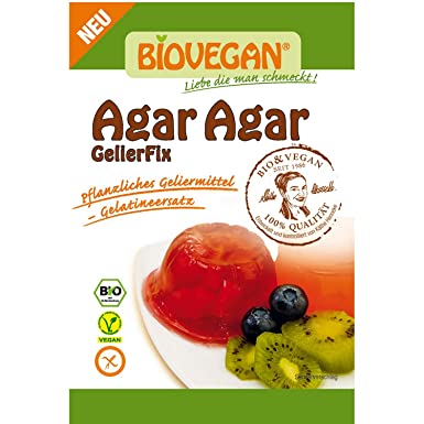 49,99 EUR//kg Agar Agar Pulver 1kg pflanzliche Gelatine Geliermittel Vegan