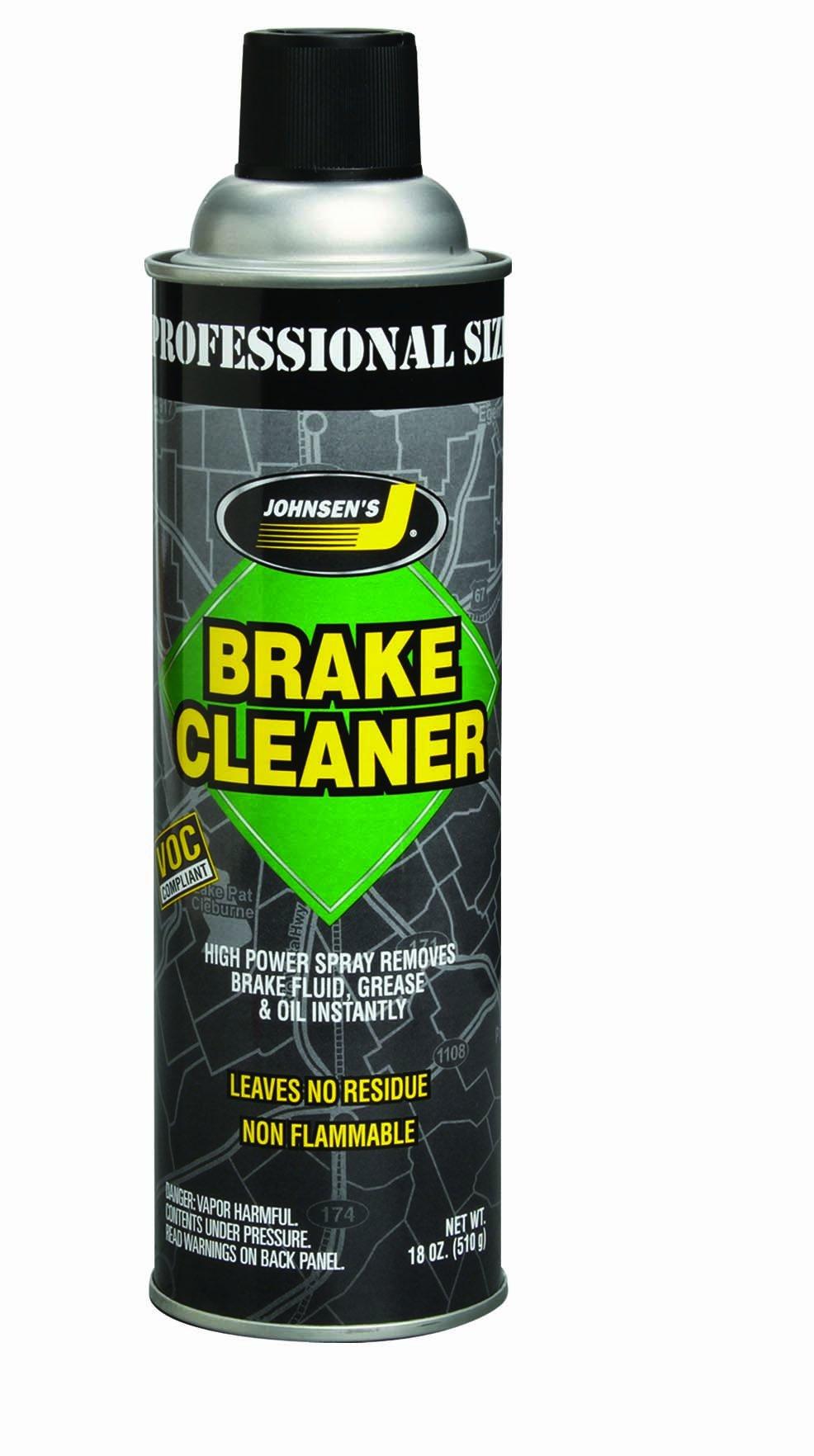 Johnsen's 2420-12PK Brake Parts Cleaner - 16 oz, (Pack of 12)