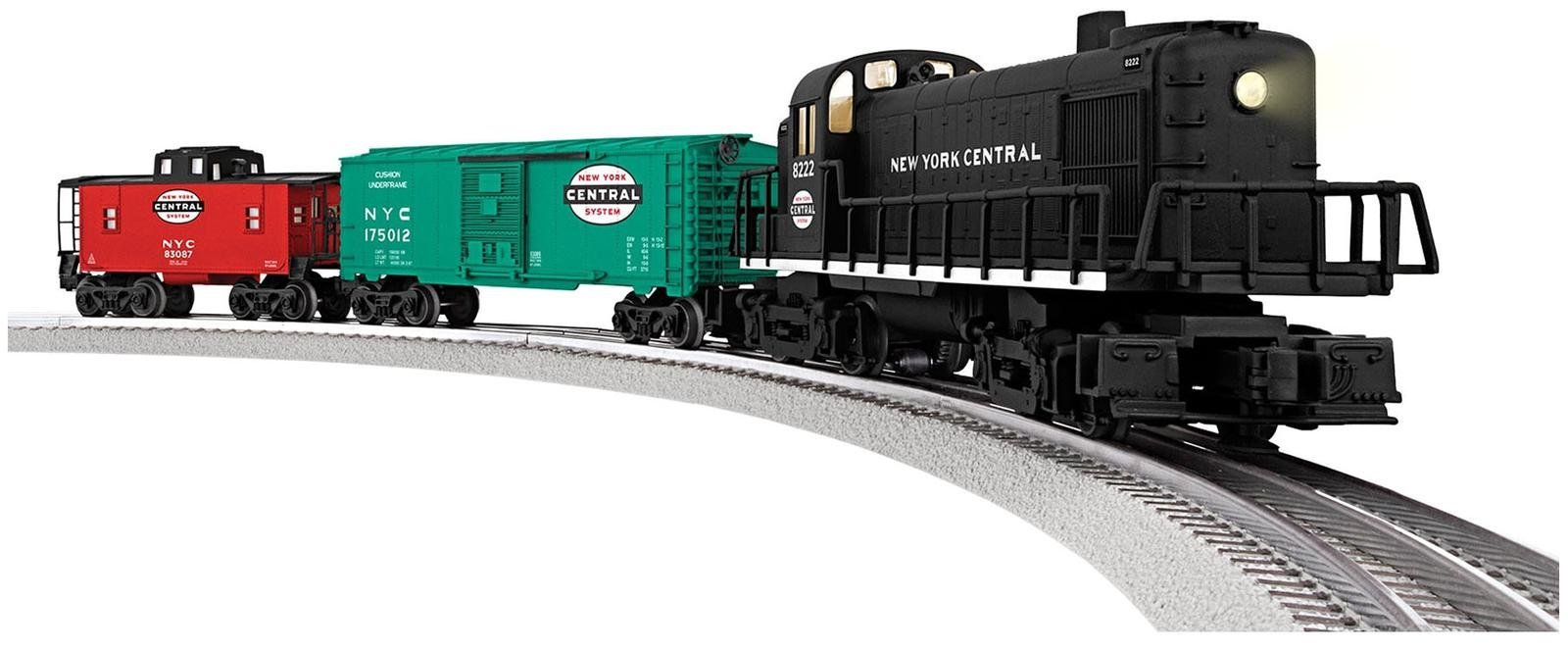 Lionel New York Central RS-3 Freight Train Set - O-Gauge