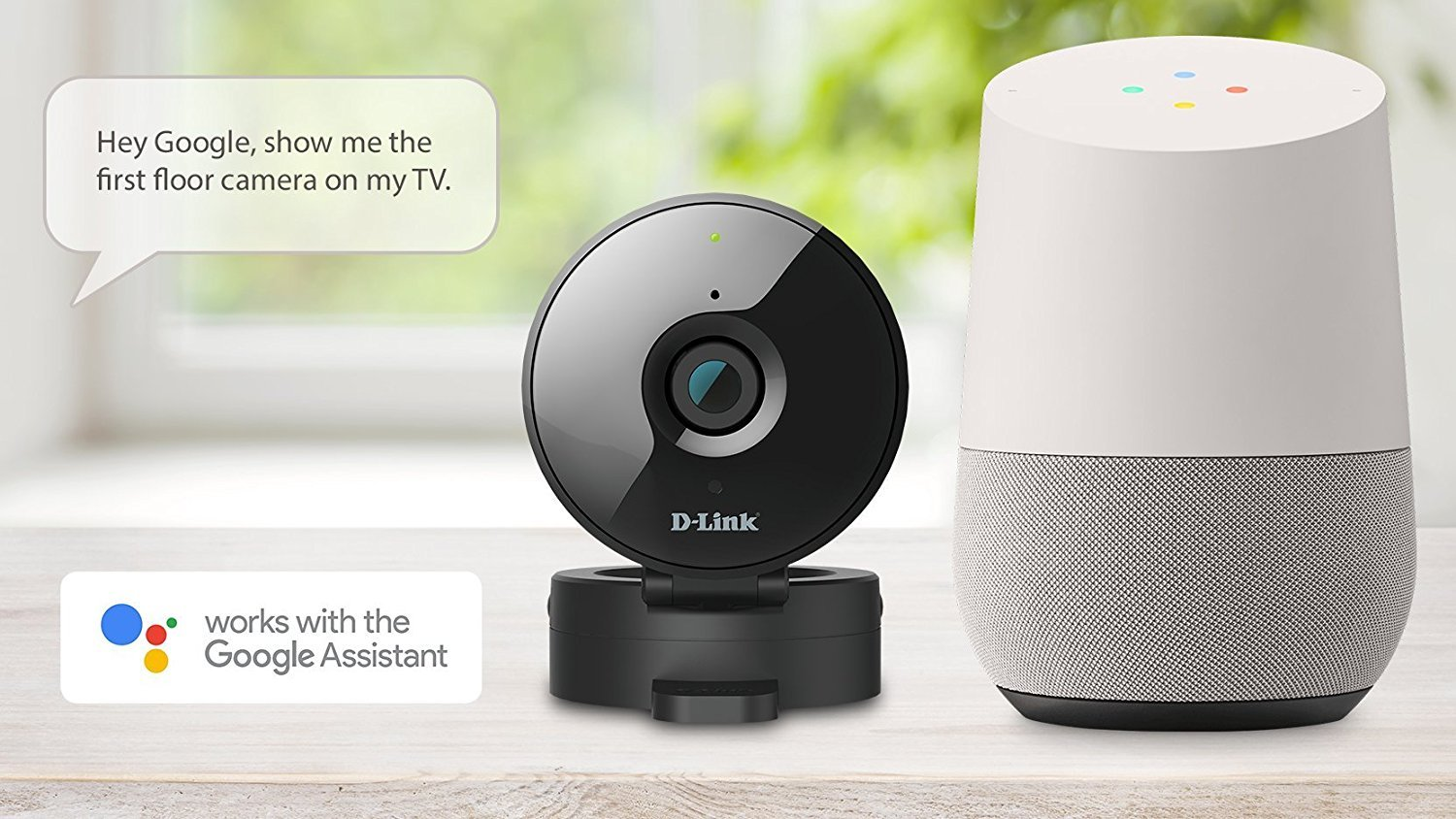 D-Link HD WiFi Security Camera – Indoor – Night Vision – Remote Access – Works with Google Assistant – Casting – Streaming (DCS-936L) by D-Link (Image #2)