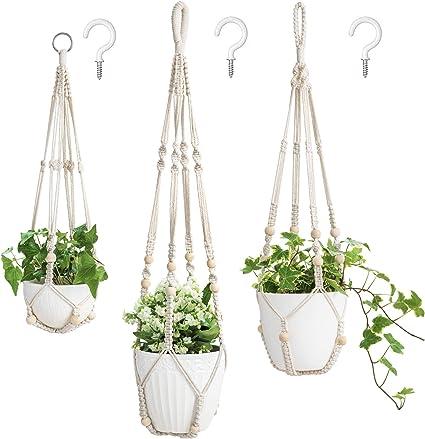 Macrame DIY Plant Hanger SPECIAL BUY 3 Pack For $50 Aus Seller