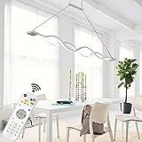 briloner leuchten led pendelleuchte dimmbar h ngelampe h ngeleuchte wohnzimmerlampe pendel. Black Bedroom Furniture Sets. Home Design Ideas
