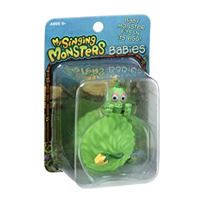 My Singing Monsters Baby Furcorn Collectible Figure with Egg: Toys & Games