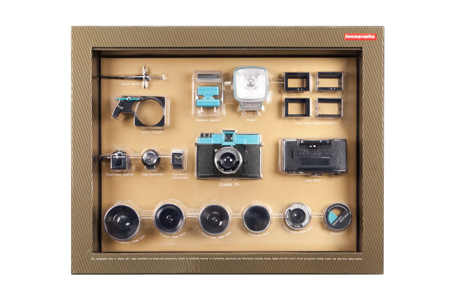 Diana Deluxe Kit for Camera by Lomography