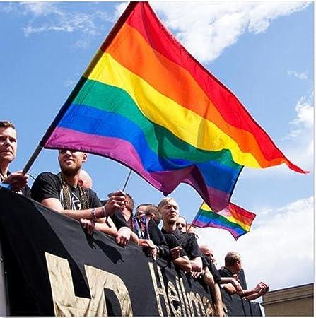 Rainbow Peace Flag 3x5 feet Gay Pride LGBT Lesbian new