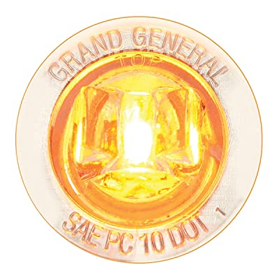"""GG Grand General 75281 1"""" Dual Function Mini Wide Angle LED Light for Trucks, Towing, Trailers, ATVs, UTVs, RVs: Automotive"""