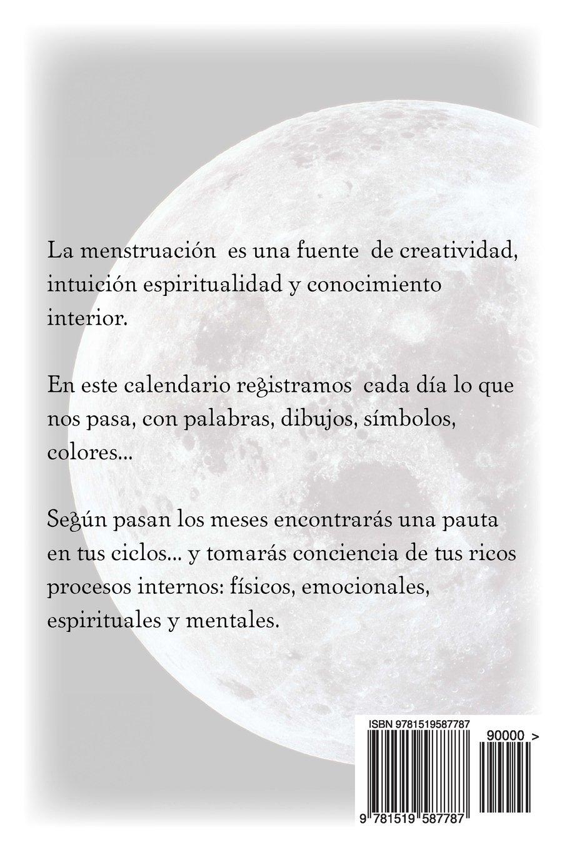 Calendario Lunar Menstrual 2016: Amazon.es: A Antolin: Libros