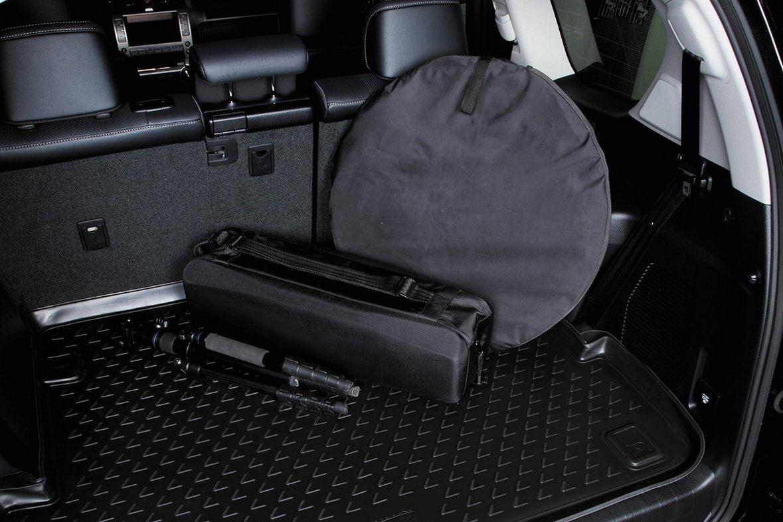 Anti-Rutsch Oberfl/äche AD Tuning TMP27013 Passform Kofferraumwanne schwarz