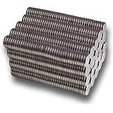 【Q10商店】ネオジウム 磁石 マグネット セット 15mm×2mm 円柱型 世界最強 超強力 (50個セット)