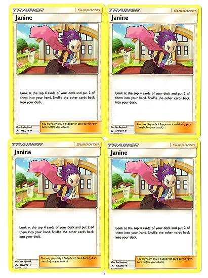 Amazon.com: Janine 176/214 - Juego de tarjetas de apoyo para ...
