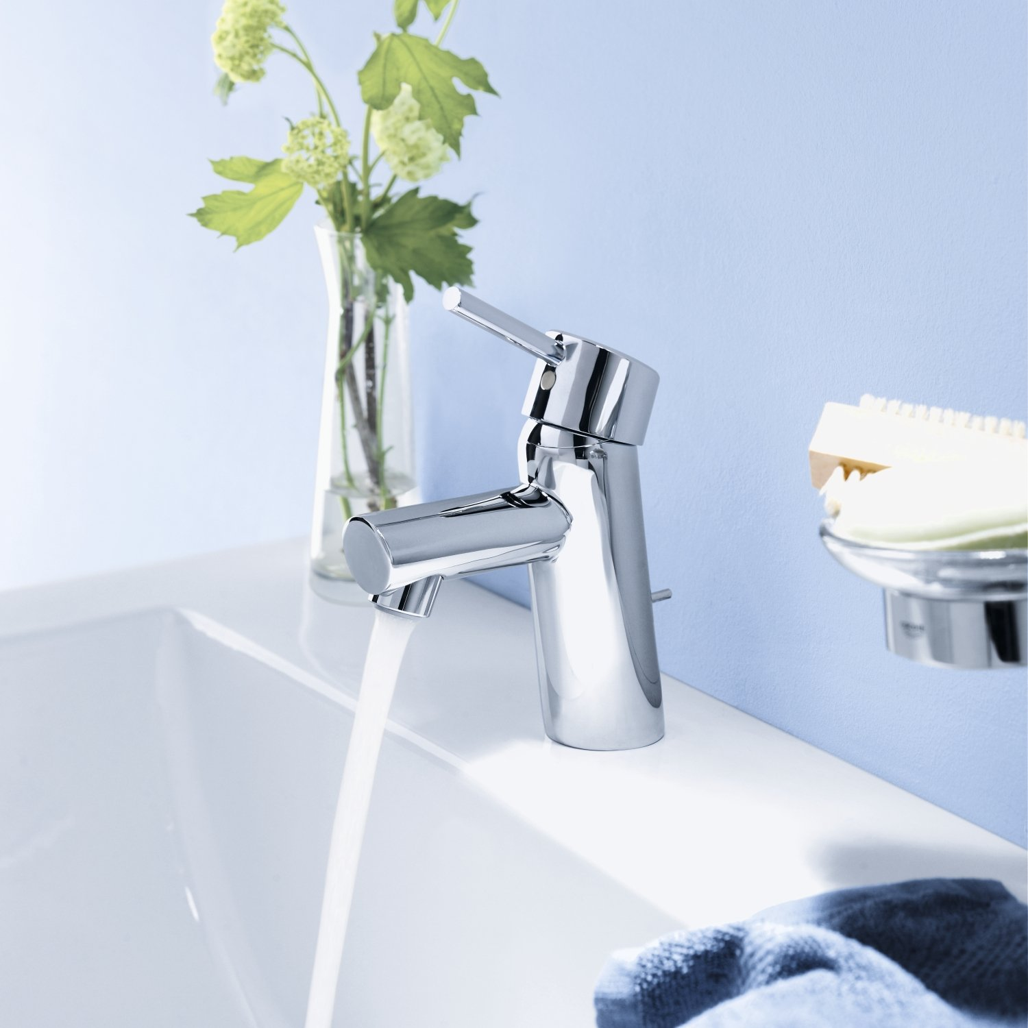 Grohe 34270001 Concetto Single-Handle Bathroom Faucet - 1.5 GPM ...