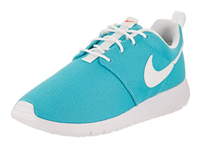 Nike Kids Roshe One (GS) Chlorine Blue/White Running Shoe 3.5 Kids US