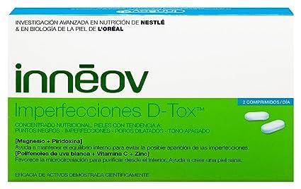 Inneov Imperfecciones D-tox 40 comprimidos