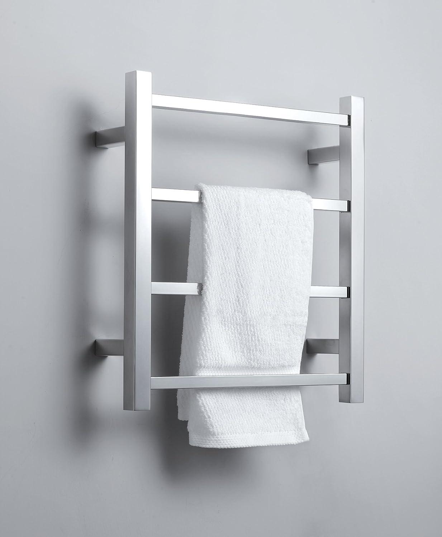 Bathroom towel heater - Amazon Com Virtu Usa Vtw 120a Bn Koz Collection Towel Warmer Brushed Nickel Home Improvement