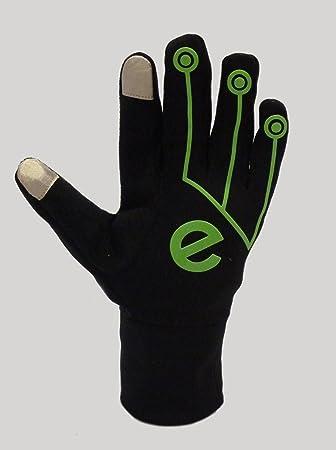 EGlove Xtreme Black/Green (Small) Touchscreen Fleece Gloves for Smartphone/Touchscreen Operation: Amazon.es: Electrónica