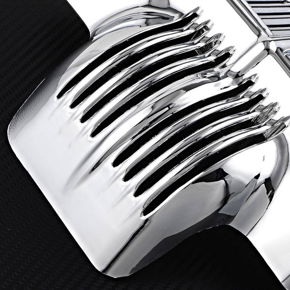 Chrome Plated Stock Oil Cooler Cover for Harley-Davidson Touring Road Street Glides 2011-2016