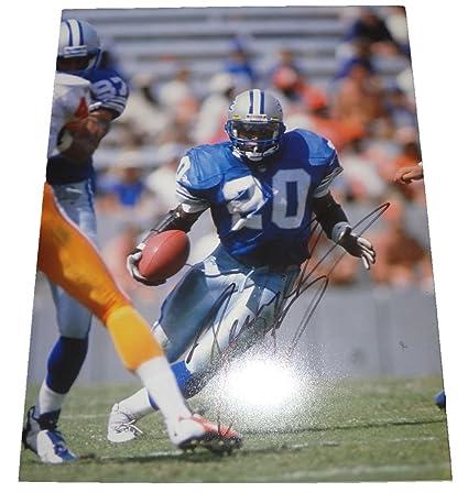 9e7c4e2eb Barry Sanders Autographed Detroit Lions 11x14 Photo W PROOF