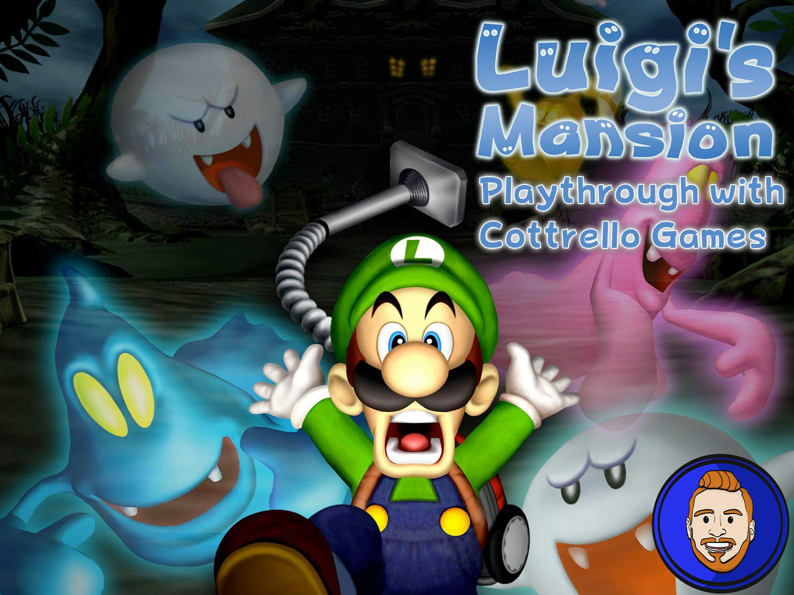 Luigi's Mansion Playthrough with Cottrello Games