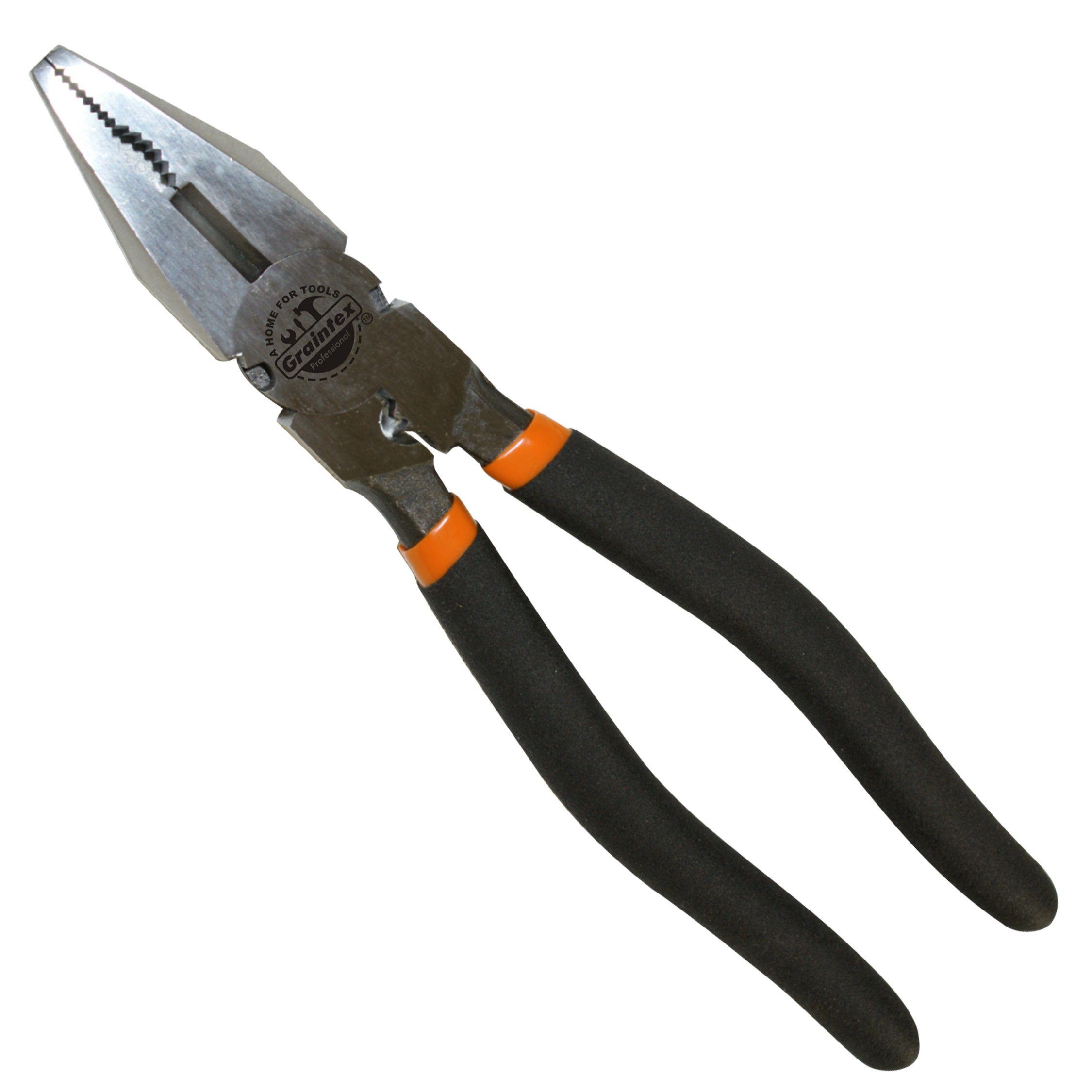 Graintex LP1450 Professional Linesman Plier, 9-Inch