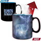 ABYstyle - Harry Potter - Tazza Magica Heat Change Patronus (per Il Calore) 460 ml