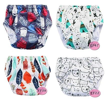 Pantalones de entrenamiento para bebés Ropa interior Niños niñas impermeables, Ropa de bebé pañales de