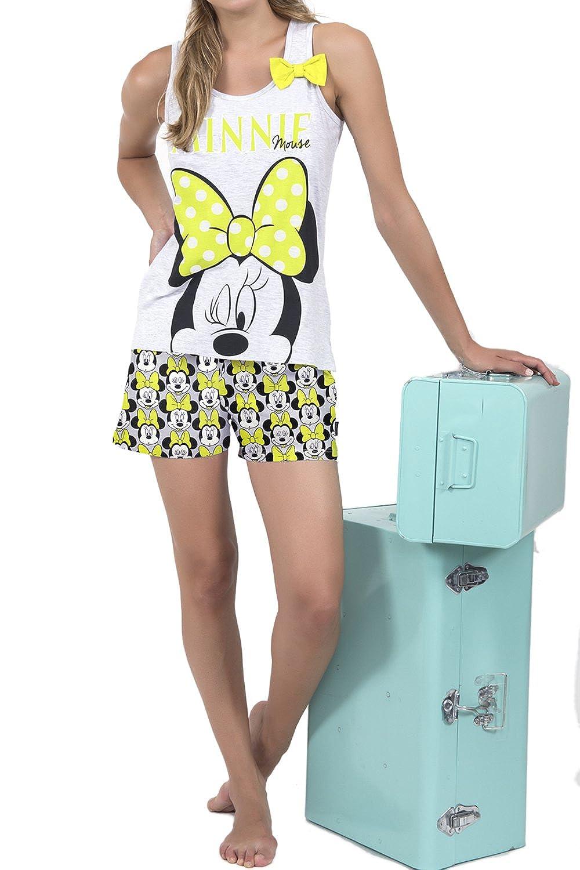 TALLA XS. Disney Pijama Tirantes Mujer Minnie