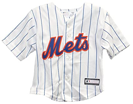 6a2457d49 Amazon.com   Outerstuff New York Mets Home Cool Base Toddler Jersey ...