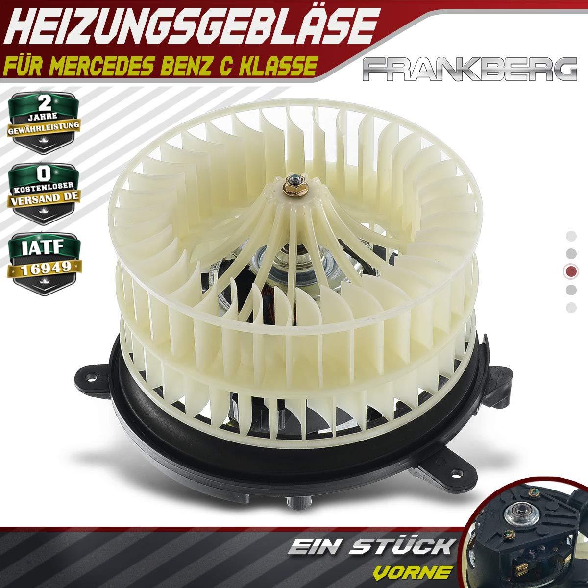 Innenraumgebl/äse Heizungsgebl/äse Motor Vorne f/ür C-Klasse C-Klasse W202 T-Model S202 CLK C208 A208 SLK R170 1993-2004 2028209342