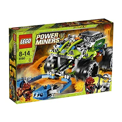 LEGO Power Miners Claw Catcher 8190: Toys & Games