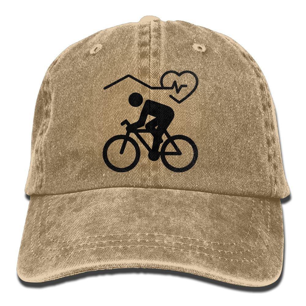 Homlife Denim Baseball Cap Indoor Cycling Summer Hat Adjustable Cotton Sport Caps