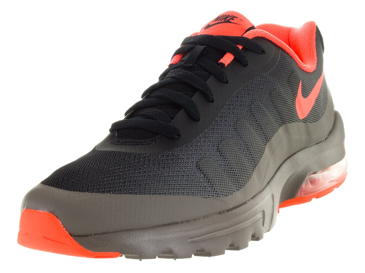 NIKE Men's Air Max Invigor Print Running Shoes B074JQKZS5 8.5 D(M) US|Black/Hyper Orange/Cave Stone