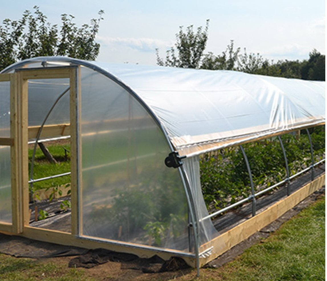 Gt4 6 Mil Uv Treated Standard Clear Greenhouse Film, 16' Wide X 25' Long by GT4 (Image #1)