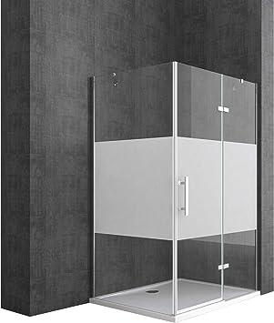 TBH: 100 x 120 x 195 cm Diseño Mampara de ducha ravenna28ms ...