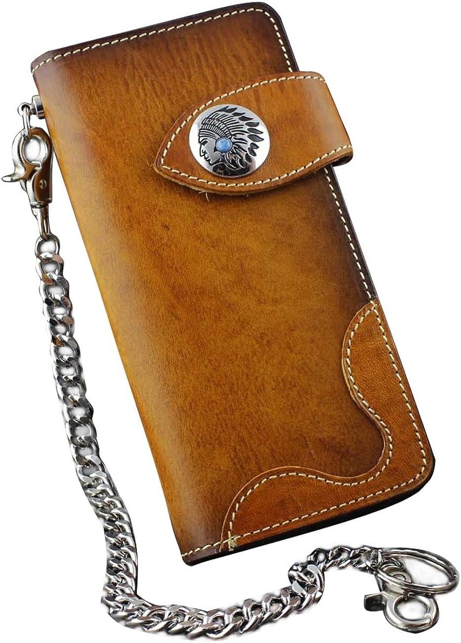 Handmade Leather wallet Alliance,biker wallet,Handmade Leather,long Wallet,Man Wallet,Gift,Chain wallet,Father/'s Day Gift,Wallet