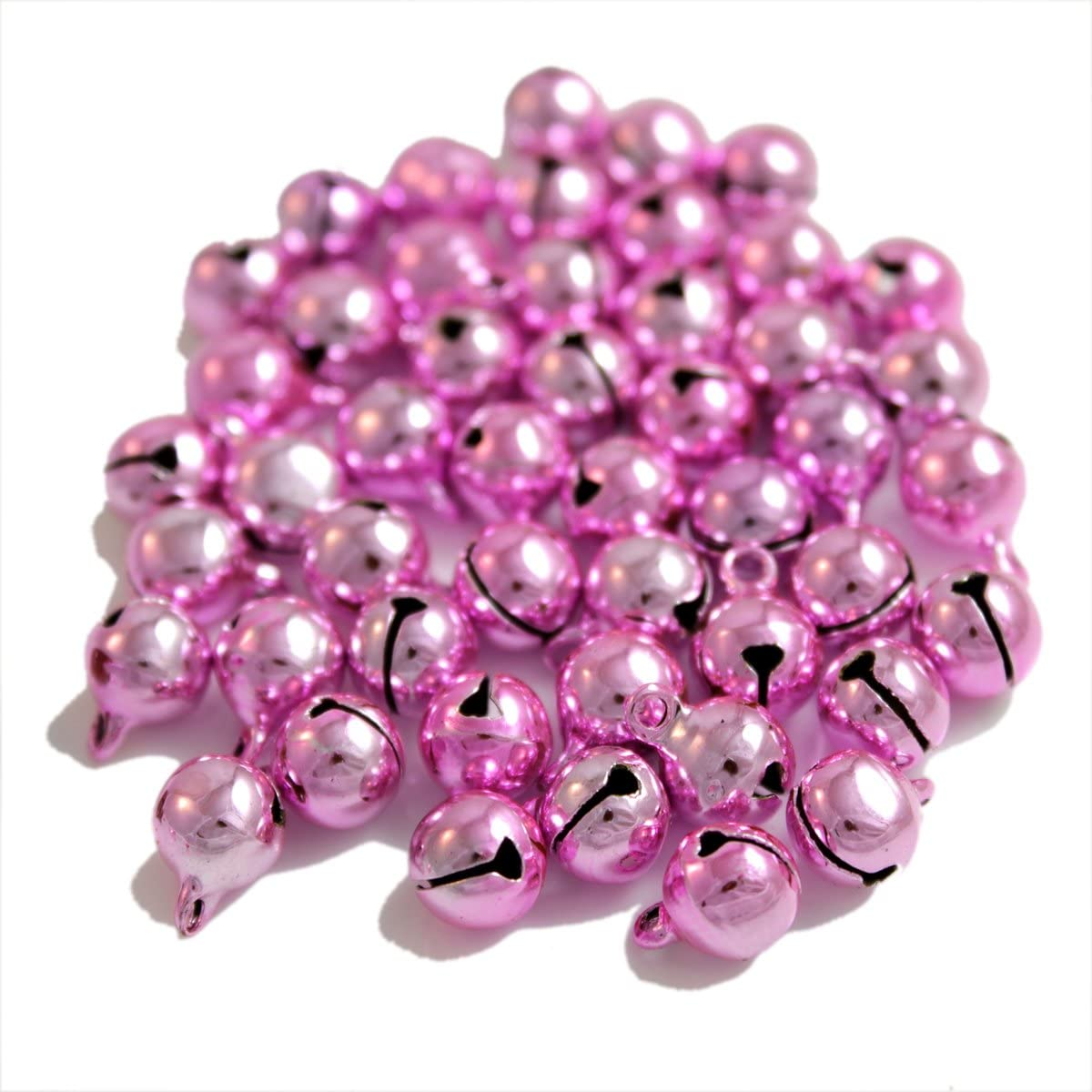 Color argento 11x7 mm Kleenes TH 100x Campanelle sonagli in rame/-/11x7/mm