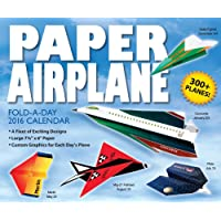Paper Airplane Fold-a-Day 2016 Day-to-Day Calendar