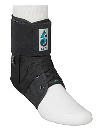 677d2234cb02 Amazon.com  ASO Ankle Stabilizing Orthosis W inserts (Black