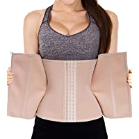 Nebility Waist Trainer Corset for Weight Loss Tummy Control Sport Workout Body Shaper