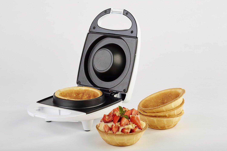 Waffeleisen Waffel Toaster Wei/ß Korona 41010 Waffelcup-Maker f/ür 10 cm Durchmesser