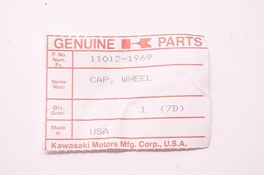 OEM Kawasaki 11012-1491 Cap Qty 2 NOS